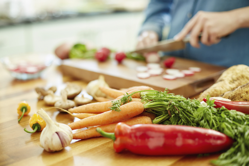 Eating a plant-based diet could reduce an individual's carbon footprint significantly. — Picture courtesy of Neustockimages/ Istock.com