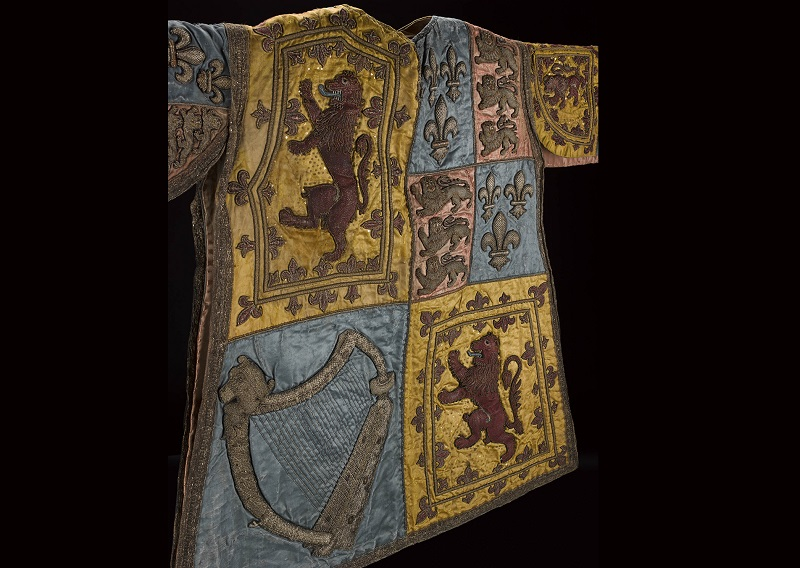 Tabard or herald's coat, Scottish, early 18th century.