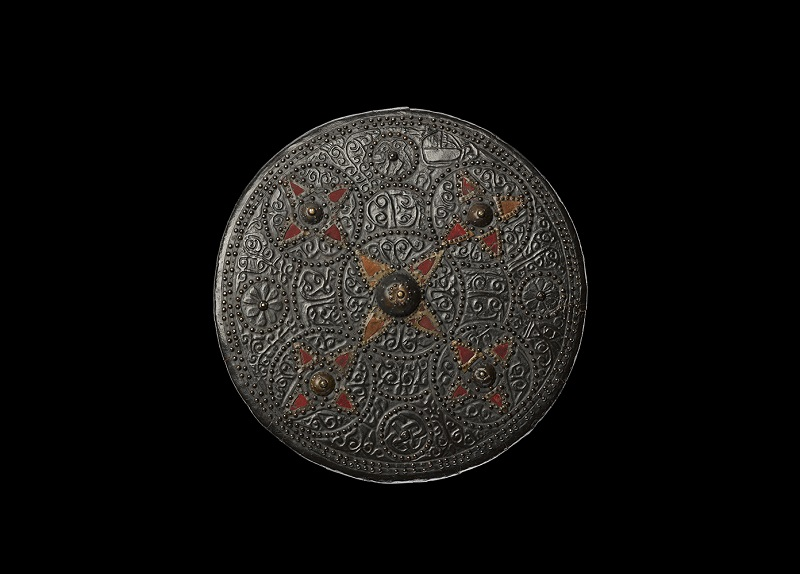 Targe possibly used by Macdonald of Keppoch at Culloden.
