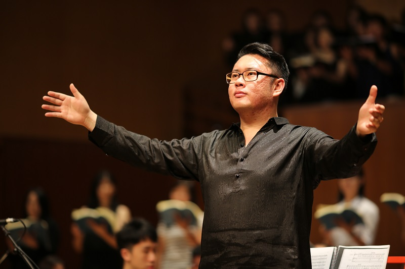 Music conductor David Chin will present Bach's 'Mass in B Minor.'  — Picture by Nadine Sheman