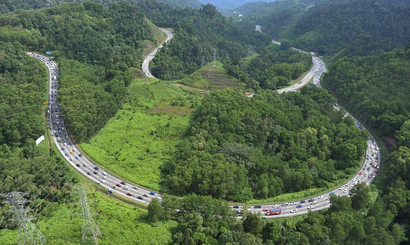 Meor Razak Meor Abdul Rahman said under the Central Forest Spine Master Plan drawn up by the Town Planning Department, there are supposed to be 12 primary linkages that would link the disconnected forests at peninsular Malaysia. — Bernama pic