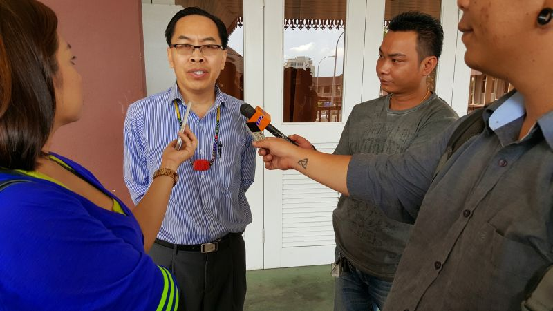 DNC president Paul Raja says the indigenous communities in Sarawak are very disturbed with the allegations of conspiracy and collusion among the judges and lawyers and fixing of judgments. ― Picture by Sulok Tawie