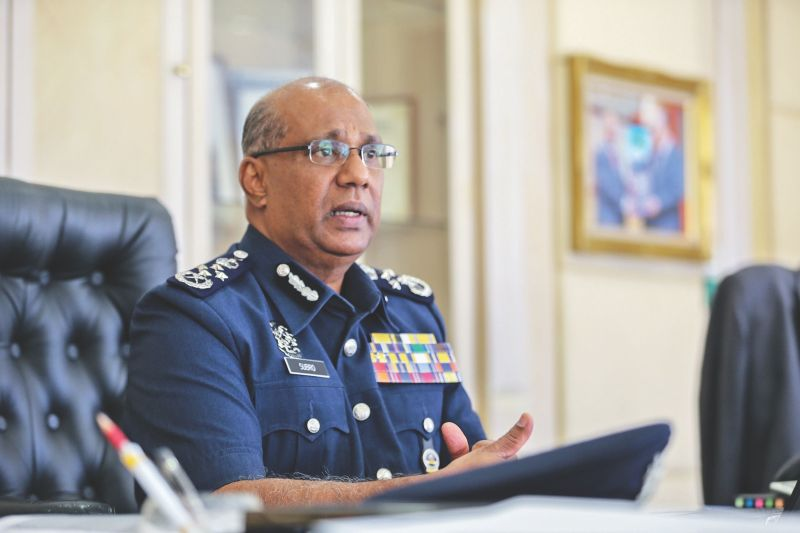 Customs director general Datuk Seri T. Subromaniam said the dogs sniffed something in the exhaust pipes and three million Erimin 5 pills were found hidden in there. — Picture by Ahmad Zamzahuri