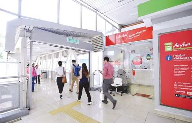 The AirAsia sales centre. — Malay Mail pic