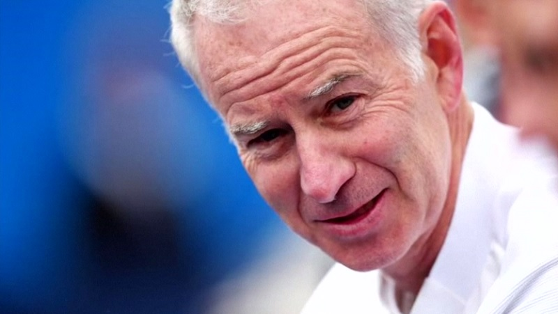 John McEnroe (pic) said Margaret Court was Tennis Australia's 'crazy aunt' and that marking the golden anniversary of her 1970 Grand Slam was a 'nightmare' for the governing body.— Reuters pic