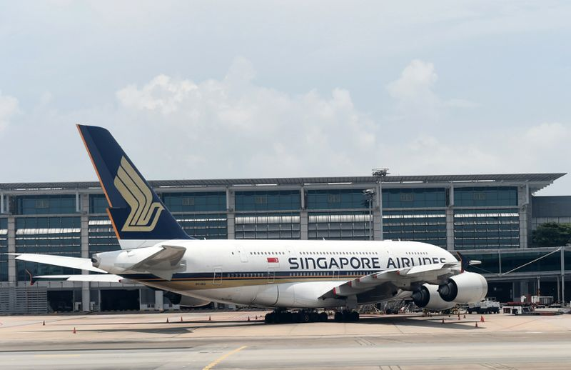Singapore Airlines takes the top spot in AirHelp's global airline ranking. ― AFP pic