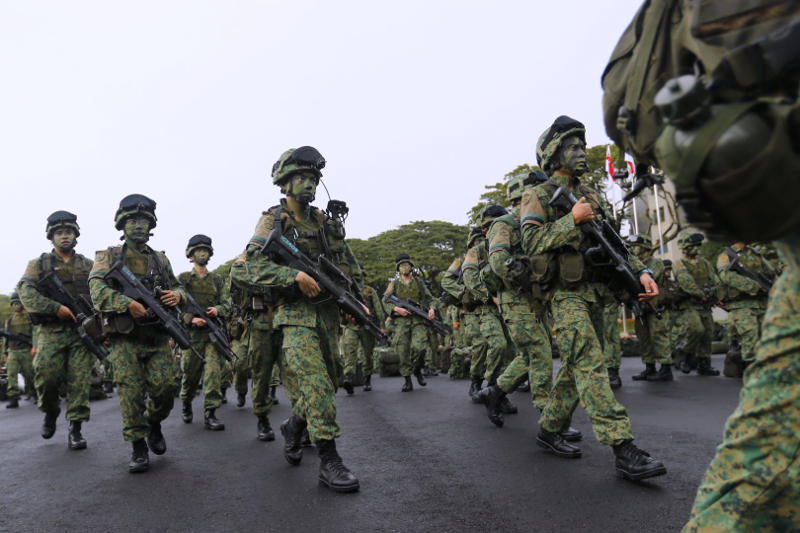 The Ministry of Defence is testing the use of 'functional assessments' to determine whether a serviceman is suitable to be deployed in a specific vocation. — Picture by Wee Teck Hian/TODAY