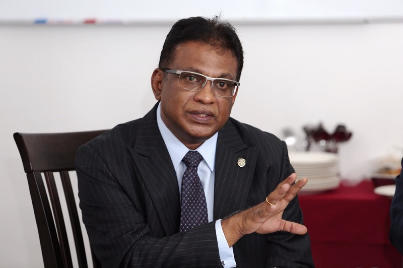 George Varughese said there should be no hostility arising as the Malaysian Bar would still have a professional relationship with the judiciary. — Picture by Choo Choy May