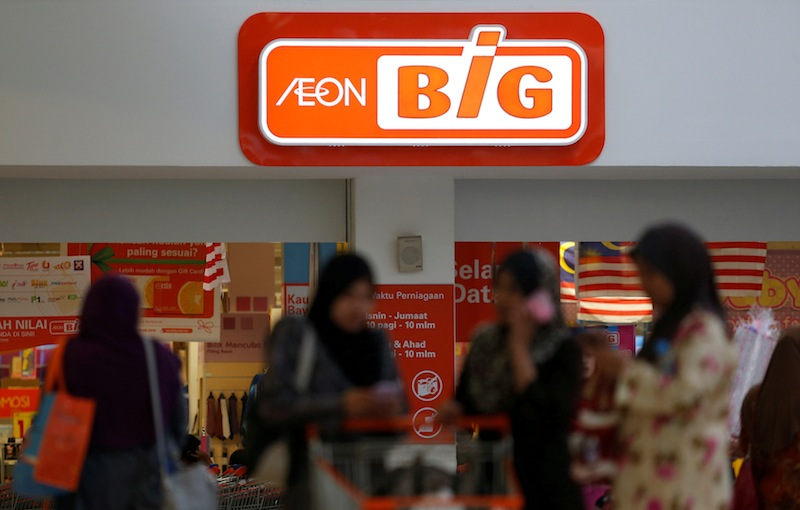 Aeon said revenue from its retail segment was affected by lower non-essential category sales namely hardline and soft-line products as a result of the Covid-19 pandemic and MCO. — Reuters pic
