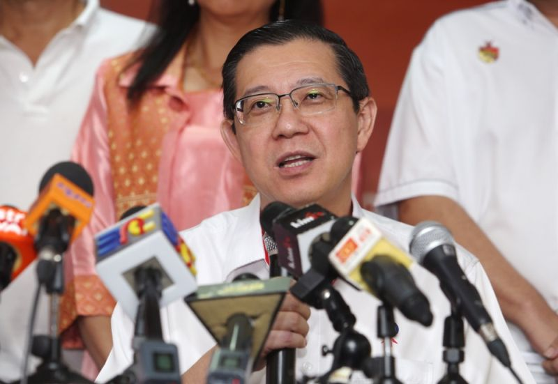 DAP's Lim Guan Eng claims that PAS showed has deviated from its original political course. — Picture by Choo Choy May