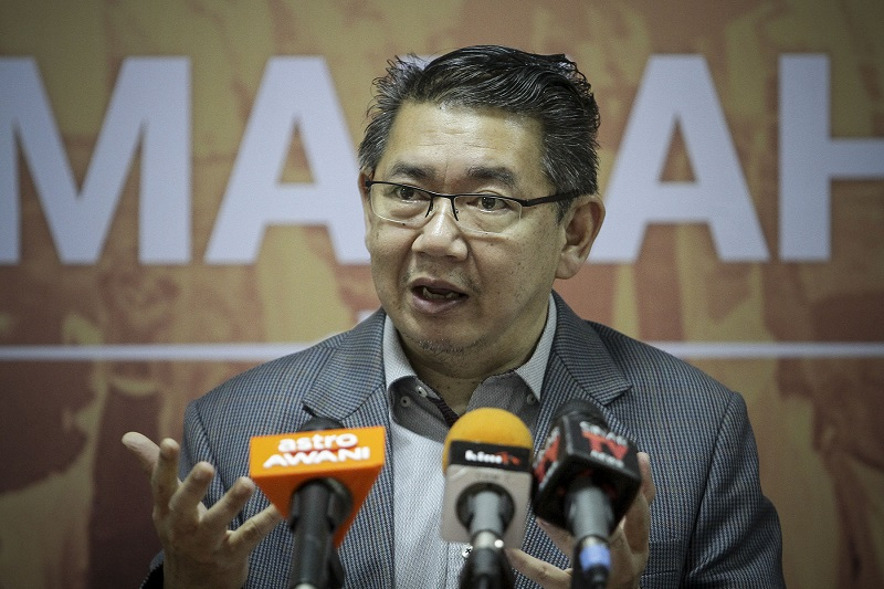 Agriculture and Agro-based Industry Minister Salahuddin Ayub said cabinet ministers as well as top officers of all ministries will be attending a special briefing by MACC. — Picture by Yusof Mat Isa
