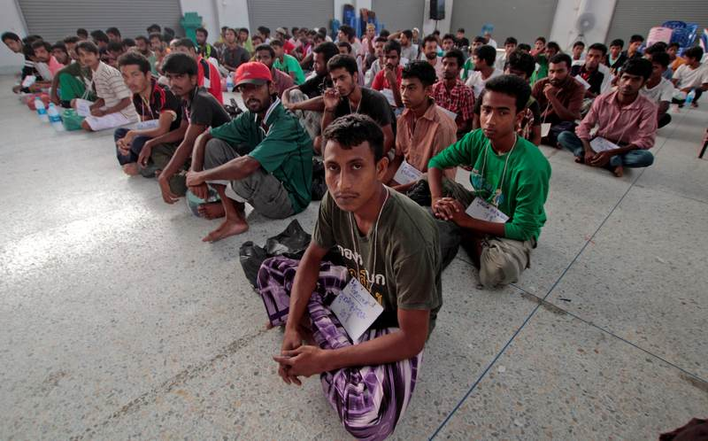 Thai police have rescued 974 trafficking victims — mostly from Myanmar — for the year to date, compared to 622 for the whole of last year and a previous annual high of 982 in 2015, according to data released last week by the Thai government's anti-trafficking division. — Reuters pic