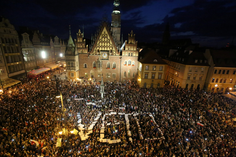 Poland is in a long-running row with the EU over reforms that the bloc says hurt court independence. — Picture by Agencja Gazeta/Mieczyslaw Michalak via Reuters