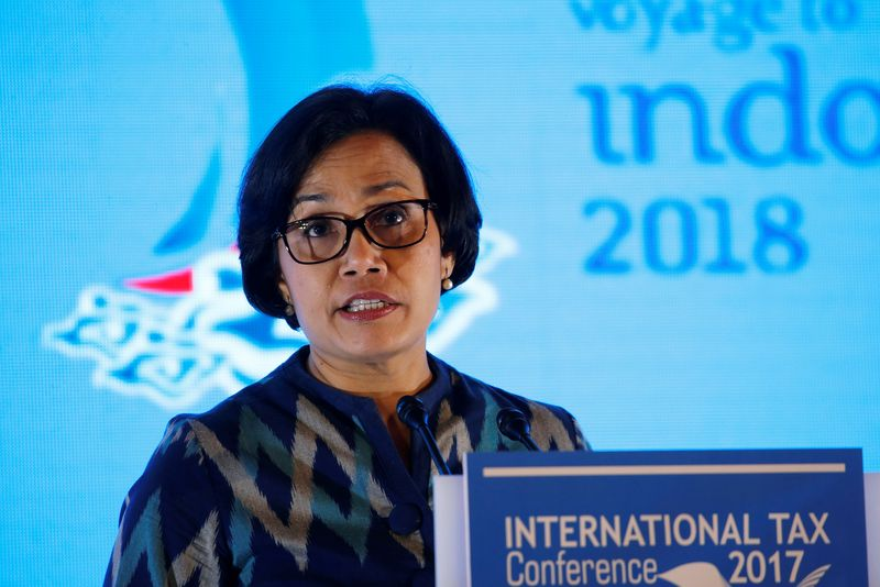 Indonesia's Finance Minister Sri Mulyani Indrawati speaks during the International Tax Conference in Jakarta, Indonesia, July 12, 2017. — Reuters pic