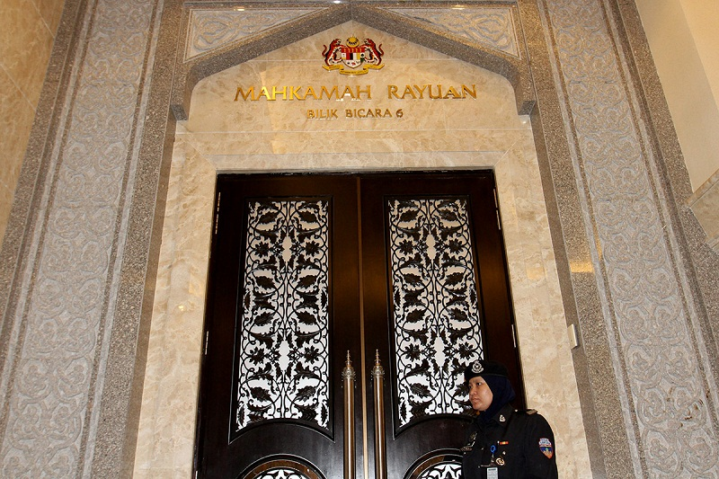 Court of Appeal President Tan Sri Rohana Yusuf, who led the bench, said the men's review hearing had been postponed several times while waiting for the Federal Court to decide on the death penalty challenge in another court case. — Picture by Miera Zulyana