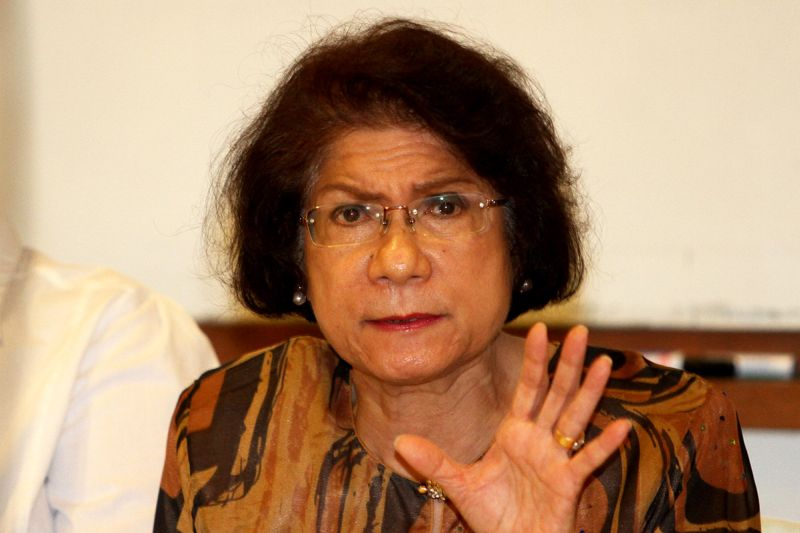 Datuk Noor Farida Ariffin said that it was worrying that a woman's dignity and well-being can be sacrificed for the sake of politics and propaganda.