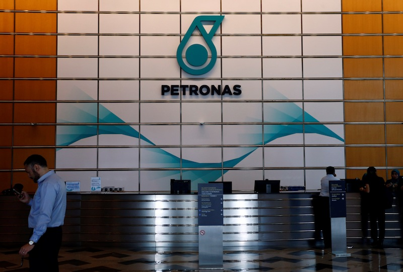 Petronas said its collaboration with Microsoft would focus on the key areas of digital foundation, comprising talents' upskilling and infrastructure readiness.. — Reuters pic