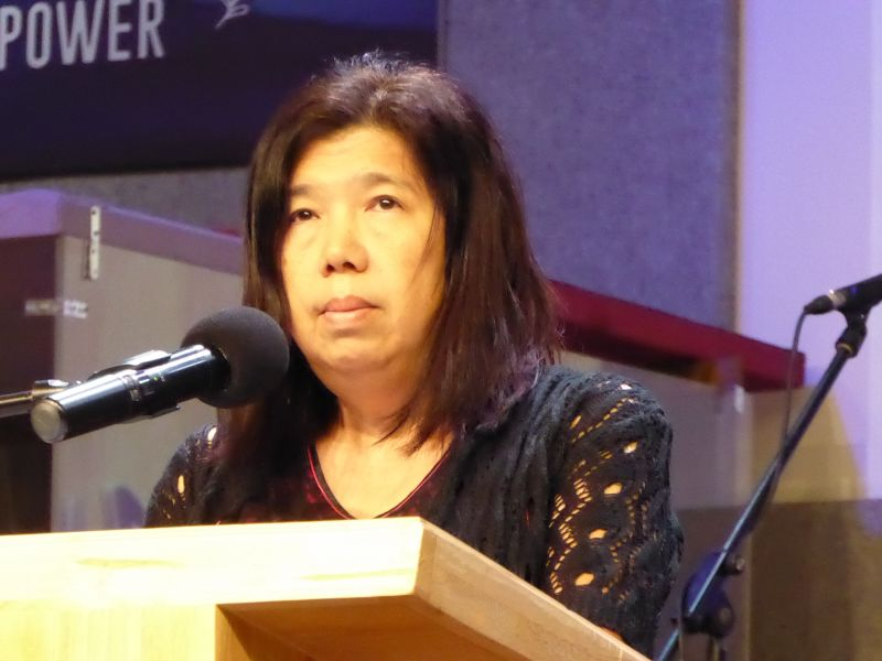 Susanna Liew, the wife of missing pastor Raymond Koh, expressed her disappointment and consternation over the handling of the investigation by the police. ― Picture courtesy of the Koh family