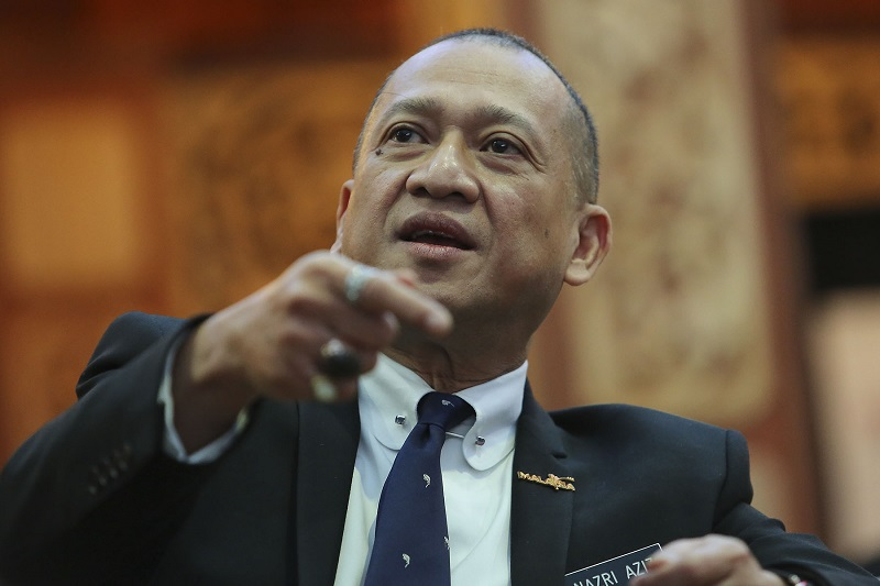 Tourism and Culture Minister Datuk Seri Mohamed Nazri Abdul Aziz, August 24, 2017. — Picture by Yusof Mat Isa