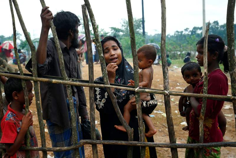 Hundreds of thousands of Rohingya fled to Bangladesh during military operations in 2017. — Reuters pic