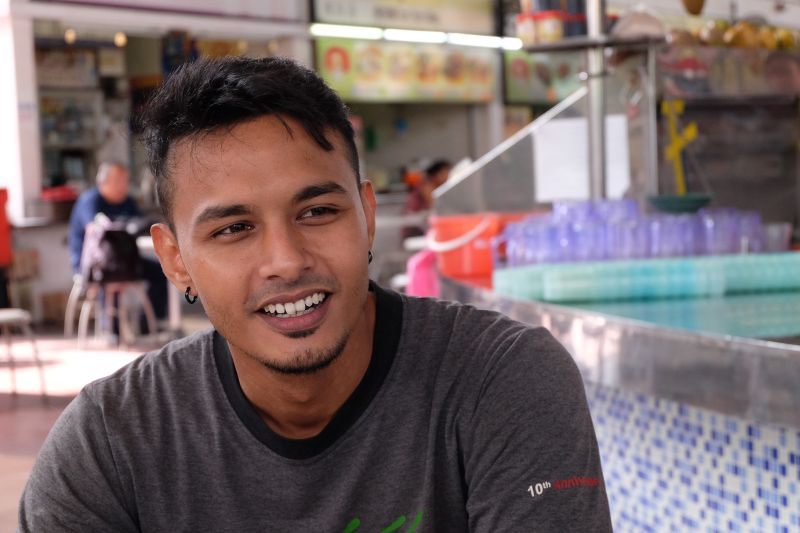 Roy Krsna Nair, 28, whose mother is Chinese and father Indian, speaks fluent Hokkien. ― Pictures by KE Ooi