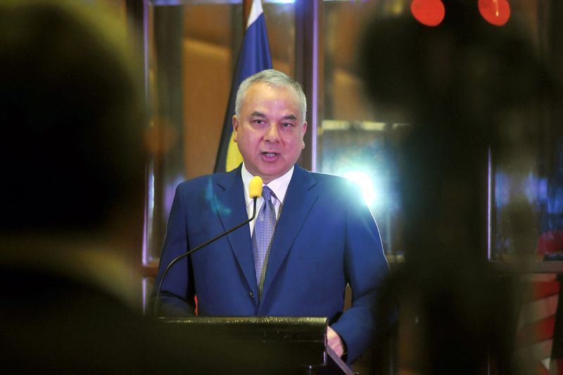 Sultan of Perak Sultan Nazrin Shah speaking during the official launch of the book 'Asean Future Forward Anticipating The Next 50 Years' in Kuala Lumpur in this file picture taken on August 28, 2017. — Bernama pic