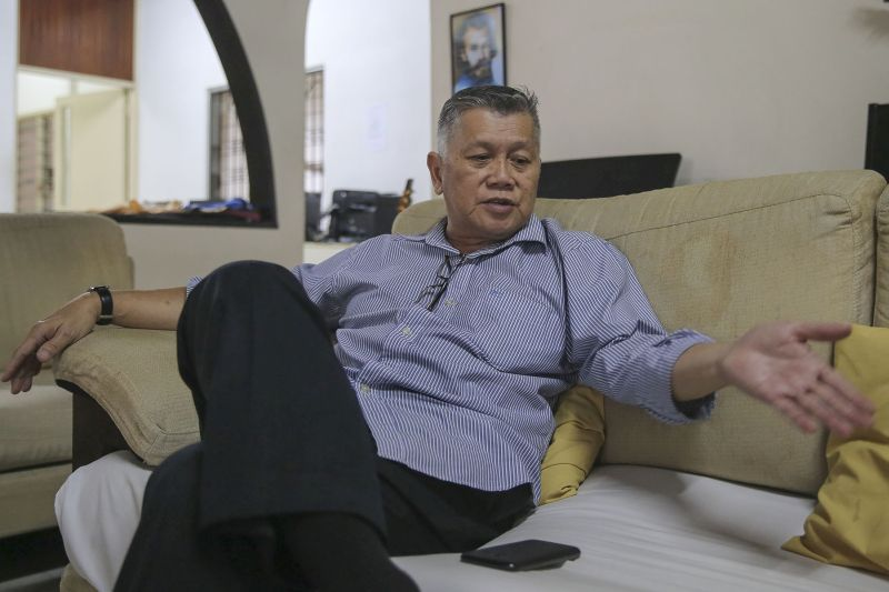 Lew, who was sentenced for white-collar crime in the 80s, set up SCCH as a half-way home for ex-convicts. — Picture by Yusof Mat Isa