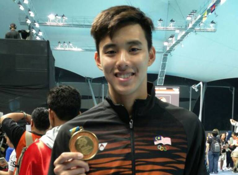 File photo of national elite swimmer Welson Sim Wee Sheng. — file pic