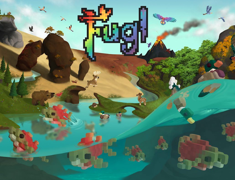 Soar high as a bird in 'Fugl'. —Screengrab from YouTube video