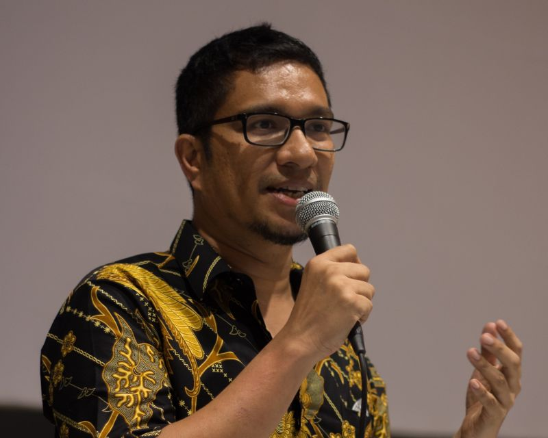 Publisher and occasional film producer, Amir Muhammad of Buku Fixi, the man behind 'A Day Off'. ― Picture courtesy of Amir Muhammad