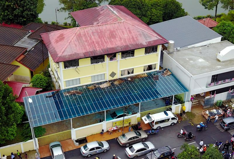 Two teenage boys, then aged 16, were jointly charged with murdering and causing the death of the 23 residents at the tahfiz centre at Jalan Keramat Hujung, Kampung Datuk Keramat in Kuala Lumpur, between 4.15am and 6.45am on September 14, 2017. — Bernama pic