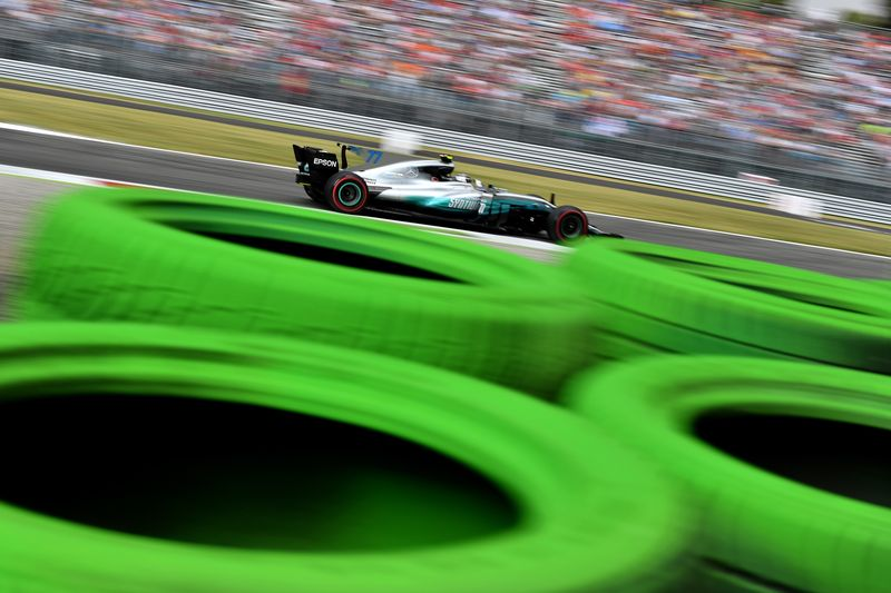 A lap of Monza is 5.793km so the sprint is expected to be 18 laps of the fastest circuit on the calendar. — AFP pic