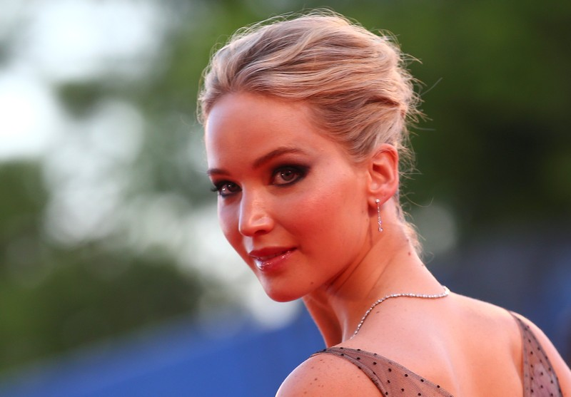 Actor Jennifer Lawrence poses during a red carpet for the movie 'Mother!' at the 74th Venice Film Festival September 5, 2017. — Reuters