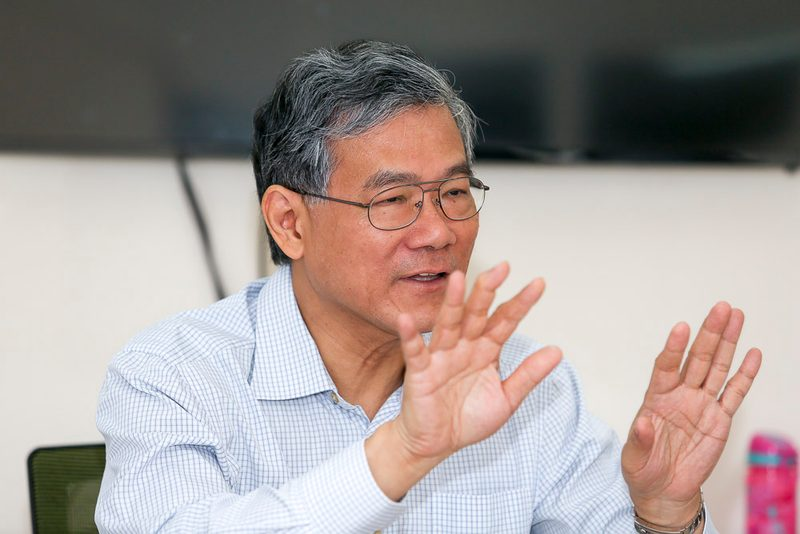 St Andrew's elder CJ Lim said the church's multi-ethnic community unites on essential issues. — Picture by Choo Choy May