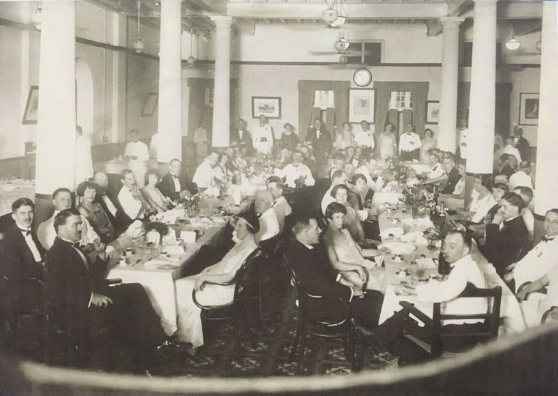 St Andrew's was started to cater to the local Scottish community who were away from home and remained so for several decades; seen here is a fundraising event in 1925. — Picture courtesy of St Andrew's Presbyterian Church