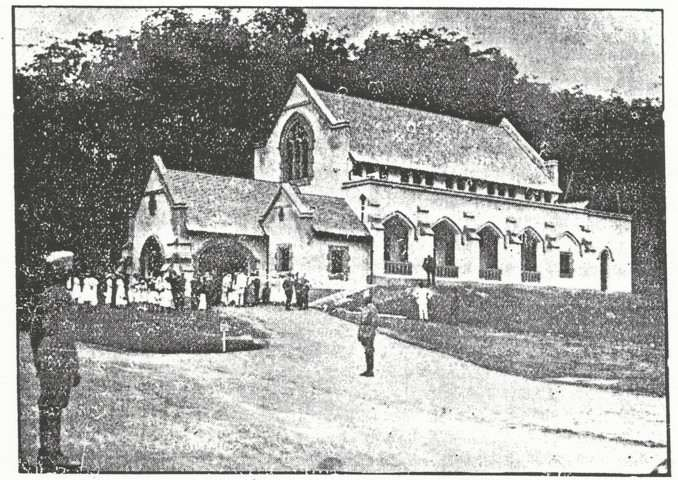 The St Andrew's Presbyterian Church has come a long way since April 17, 1918 as seen here when it first started using the main church building. — Picture courtesy of St Andrew's Presbyterian Church