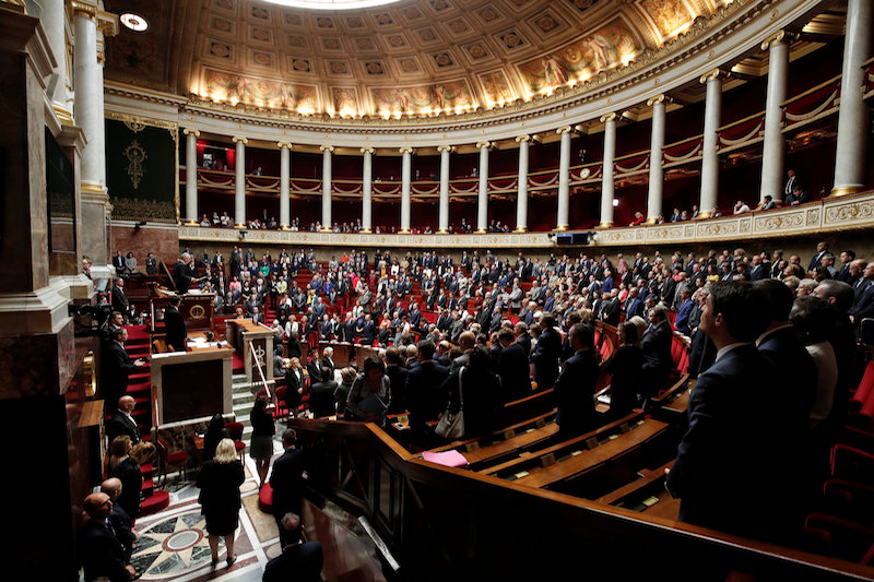 The National Assembly gave the legislation unanimous final approval following a wave of allegations of sexual abuse and incest described as France's second #MeToo movement. — Reuters pic