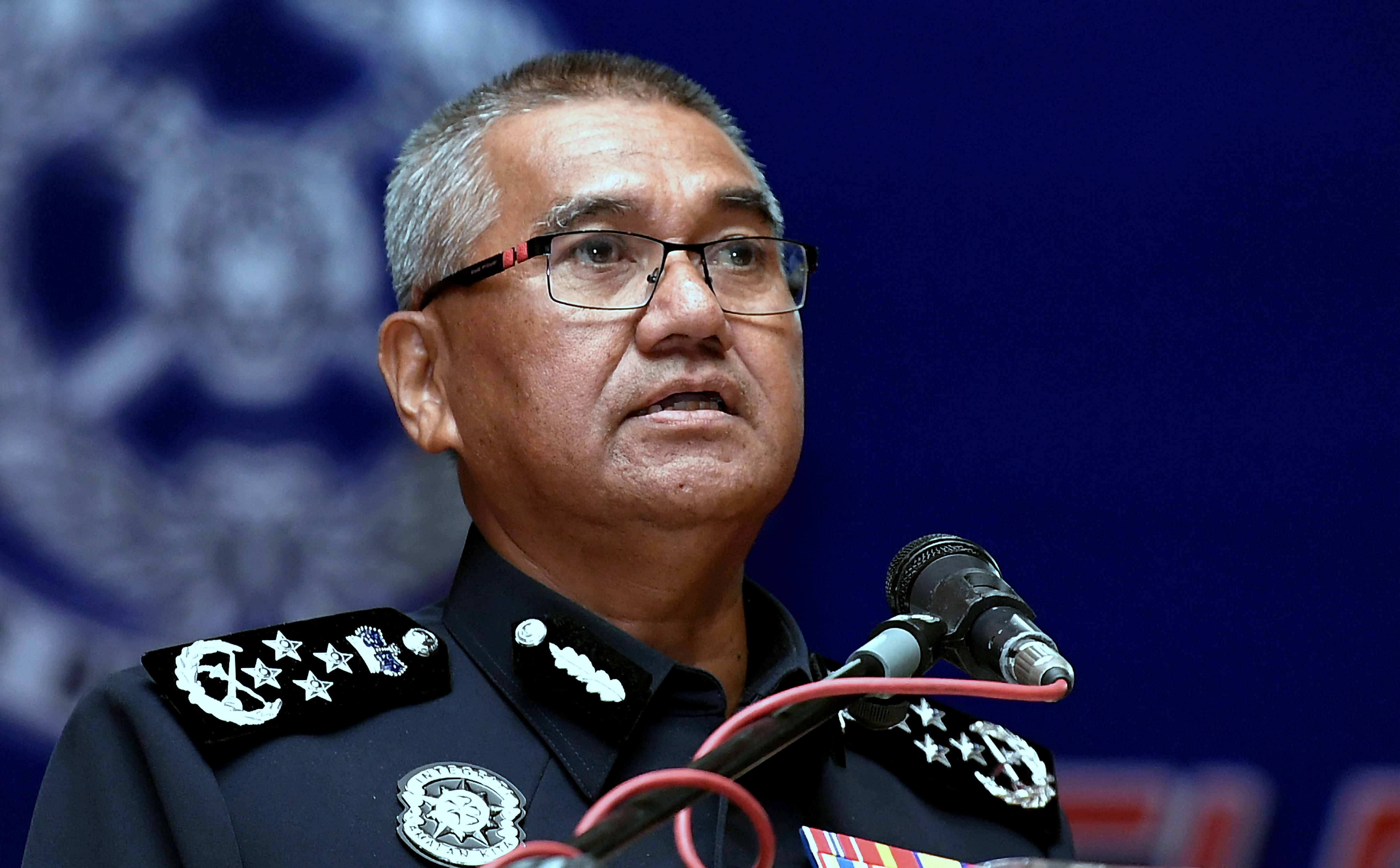 Mohamad Fuzi said the militant had long been on the police's 'Most Wanted' list. — Bernama pic
