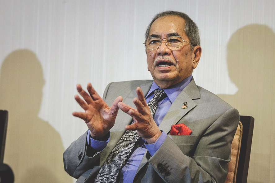 Santubong Member of Parliament Datuk Seri Wan Junaidi Tuanku Jaafar aid whatever agreement reached by the PH component parties before the 14th general election in 2018 on the succession plan must not override the constitutional provision. — Bernama pic