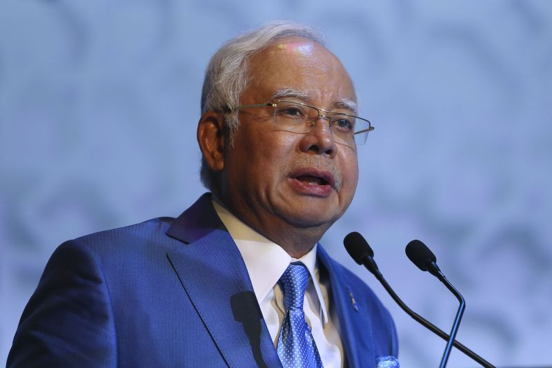 Datuk Seri Najib Razak Najib stressed that Putrajaya has taken various efforts to uphold the Federal Constitution, which upholds unity in the country. ― Picture by Yusof Mat Isa