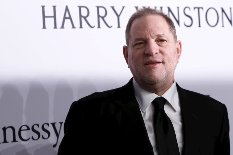 Harvey Weinstein had stepped away after the New York Times said he had reached settlements with at least eight women claiming to have been harassed by him. — Reuters pic