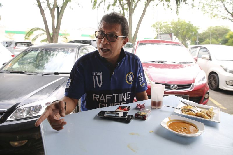 Businessman Anuar Puteh believes the Opposition has made Lembah Pantai a better constituency. — Picture by Yusof Mat Isa