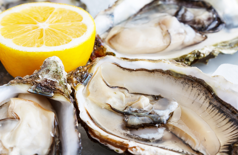 Adding seafood into your diet is one way to top up your zinc levels, which a new study says could help inhibit the growth of cancer cells. — Shutterstock.com pic via AFP