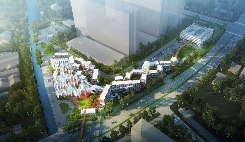 The Penang Arts District located at Gat Lebuh Macallum and Lebuhraya Tun Dr Lim Chong Eu.