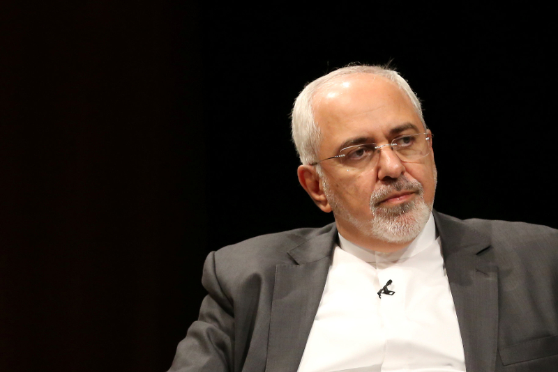 Iranian Foreign Minister Mohammad Javad Zarif April 24, 2019 condemned the silence of the US administration on Saudi Arabia's mass execution of 37 people. — Reuters pic