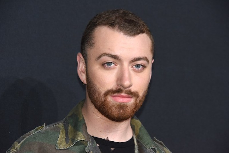 Sam Smith attends the Yves Saint Laurent fashion show in Los Angeles February 10, 2016. — AFP pic