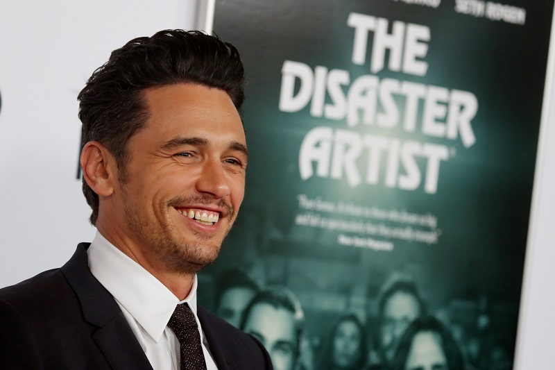 Director and star James Franco arrives for the gala presentation of 'The Disaster Artist' at the AFI Film Festival in Los Angeles November 12, 2017. — Reuters pic