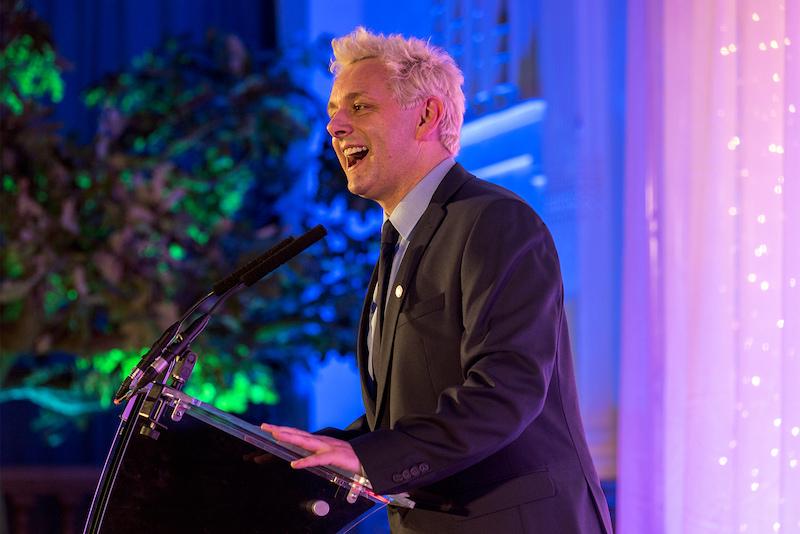 MichaelSheenat the Social Enterprise UK Awards, London September 23, 2017. —Social Enterprise UK/Mediorite handout via Reuters
