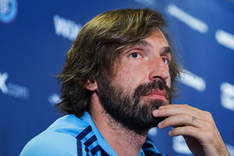 Pirlo left Juventus in 2015 and ended his playing career with Major League Soccer club New York City. — AFP pic
