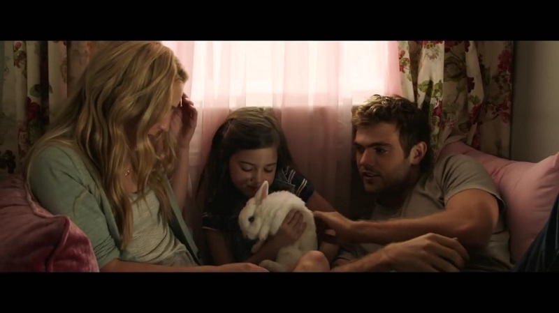 A screengrab from romantic comedy 'Forever My Girl' that stars Alex Roe and Jessica Rothe.